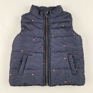 Tommy Hilfiger Toddler Puffy Vest Size 3-6M - EUC